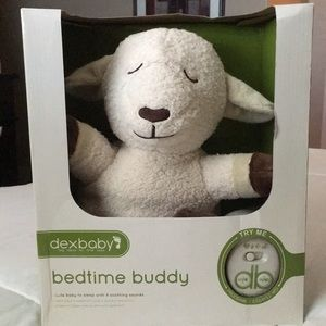 Bedtime Buddy Dexbaby Sheep Night Time Pal New with soothing sounds